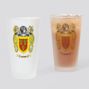 Kemp Coat of Arms (Family Crest) Drinking Glass