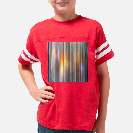 Gold Glow Youth Football Shirt