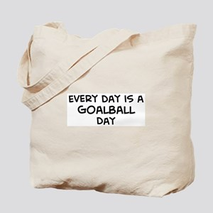 Goalball day Tote Bag