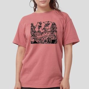 Danse Macabre Womens Comfort Colors Shirt