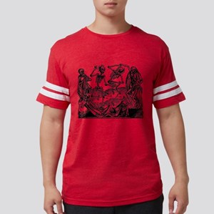 Danse Macabre Mens Football Shirt