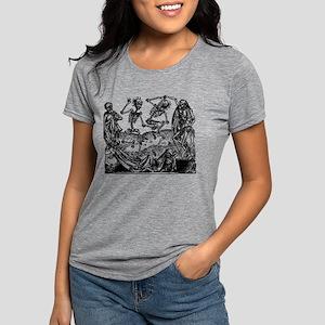 Danse Macabre Womens Tri-blend T-Shirt