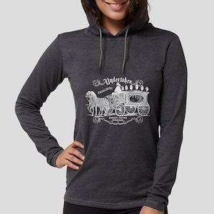 Vintage Style Undertaker Womens Hooded Shirt