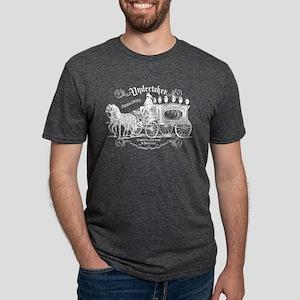 Vintage Style Undertaker Mens Tri-blend T-Shirt