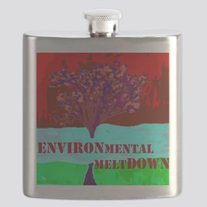 Environmental Meltdown Flask
