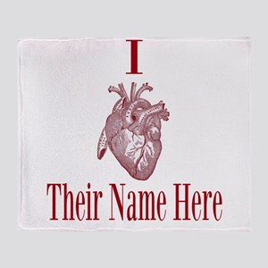 I Heart You Throw Blanket