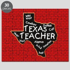Texas Teacher Puzzle