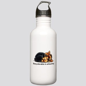 Yorkie Being Adorable Stainless Water Bottle 1.0L
