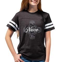 egl-nurse_bl Youth Football Shirt