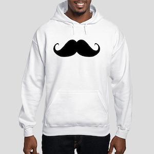 Mustach Hooded Sweatshirt