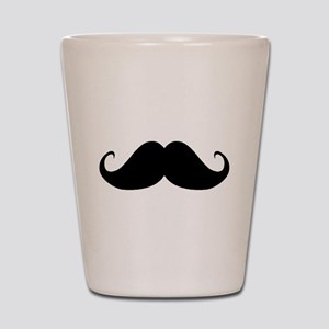 Mustach Shot Glass