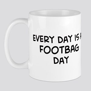 Footbag day Mug