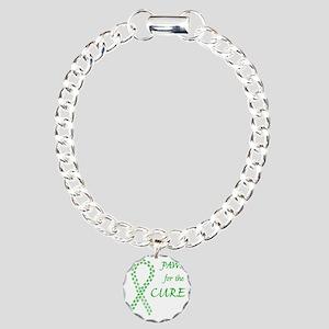 paw4cure_green Charm Bracelet, One Charm