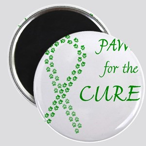 paw4cure_green Magnet