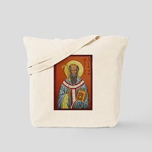 St. Aidan of Lindisfarne (1) Tote Bag