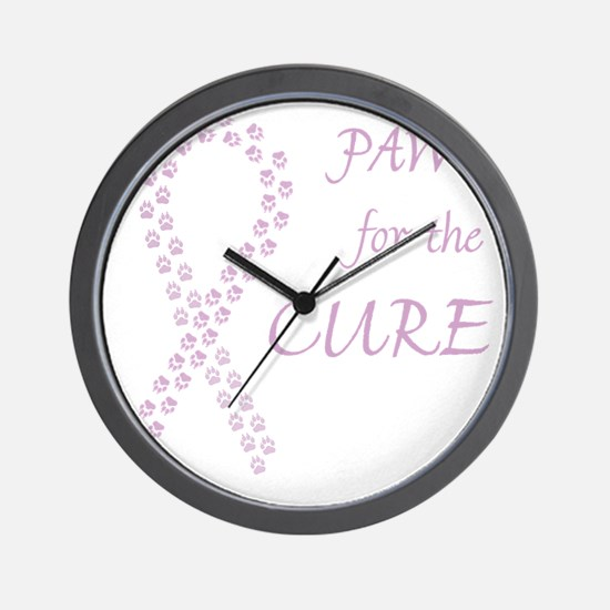 trp_paw4cure_lvdr Wall Clock
