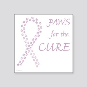 "paw4cure_lvdr Square Sticker 3"" x 3"""