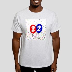 22bdayballoon Light T-Shirt