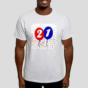 21bdayballoon Light T-Shirt