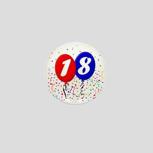 18bdayballoon Mini Button