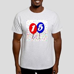 15bdayballoon Light T-Shirt
