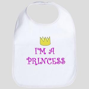 I'M A PRINCESS BABY BIB