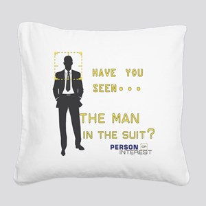 Person of Interest Man in the Suit Square Canvas P