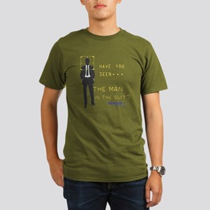 Person of Interest Man in the Suit Organic Men's T