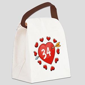 34ahrt Canvas Lunch Bag