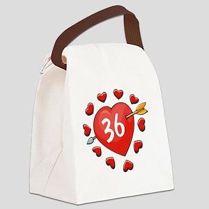 36ahrtbtn Canvas Lunch Bag