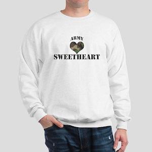 Sweetheart: Camo Heart Sweatshirt