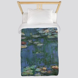 Waterlilies by Claude Monet Twin Duvet