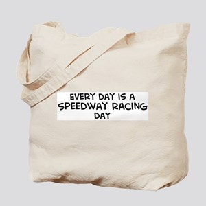 Speedway Racing day Tote Bag