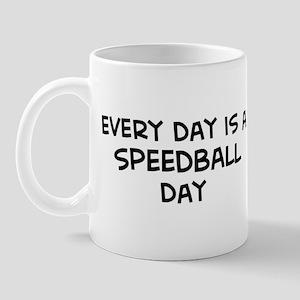 Speedball day Mug