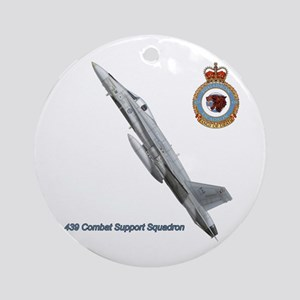 Canada's 439 Combat Support S Ornament (Round)