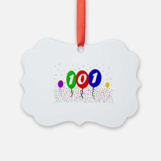 101st Birthday Ornament