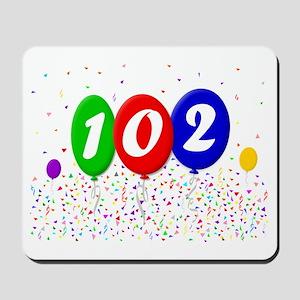 102nd Birthday Mousepad