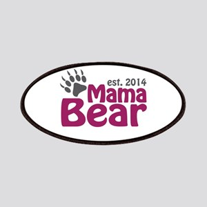 Mama Bear New Mom 2014 Patches