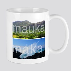 Mauka Makai Hawaii Print Mug