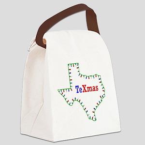 TeXmas Lights Canvas Lunch Bag