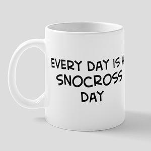 Snocross day Mug