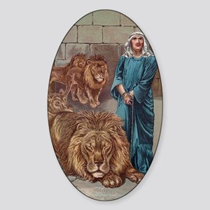 Daniel Lions Den Sticker (Oval)