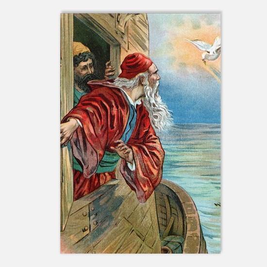 Vintage Noah Rainbow Postcards (Package of 8)