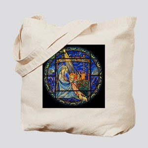 Nativity Window Tote Bag