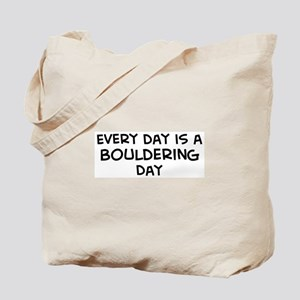 Bouldering day Tote Bag