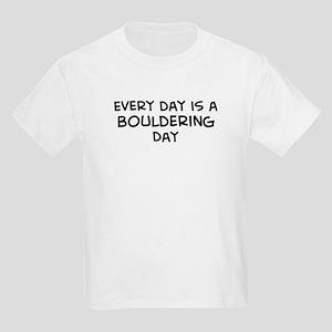 Bouldering day Kids T-Shirt