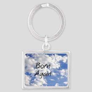Born Again Landscape Keychain