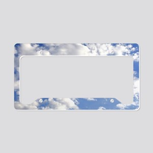 Born Again License Plate Holder