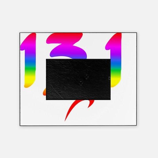 Rainbow 13.1 half-marathon Picture Frame