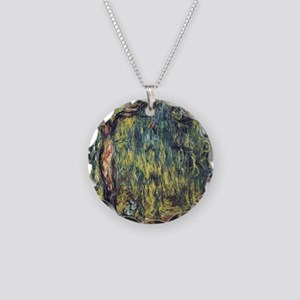 Weeping Willow by Claude Mon Necklace Circle Charm